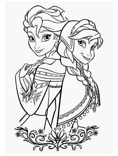 anna and elsa frozen coloring pages frozen elsa anna coloring page coloring pages anna coloring and frozen elsa pages