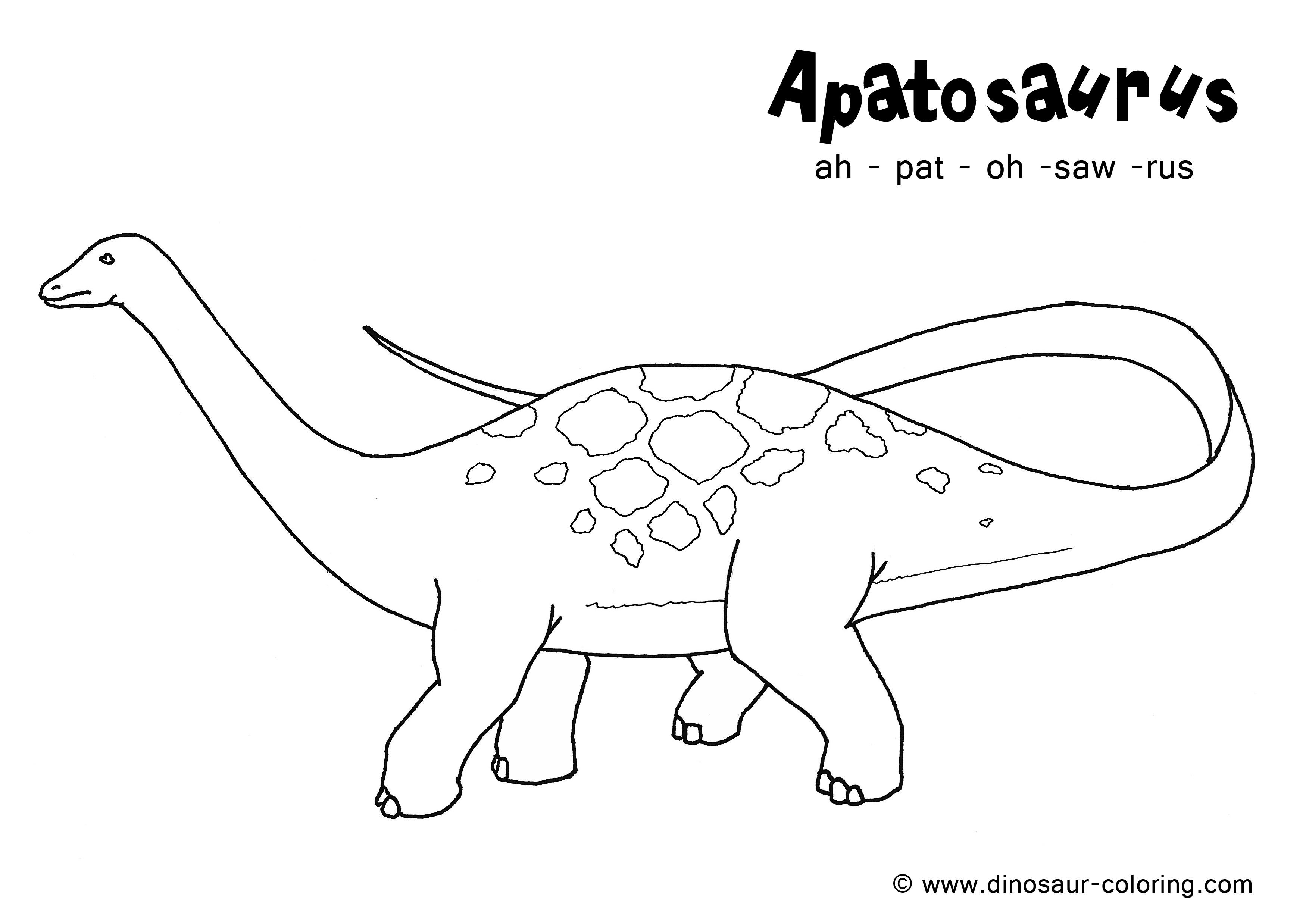 apatosaurus coloring page brontosaurus coloring pages getcoloringpagescom apatosaurus coloring page