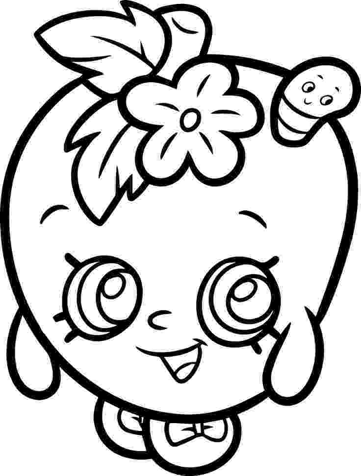 apple blossom coloring page 16 unique and rare shopkins coloring pages coloring page blossom apple coloring