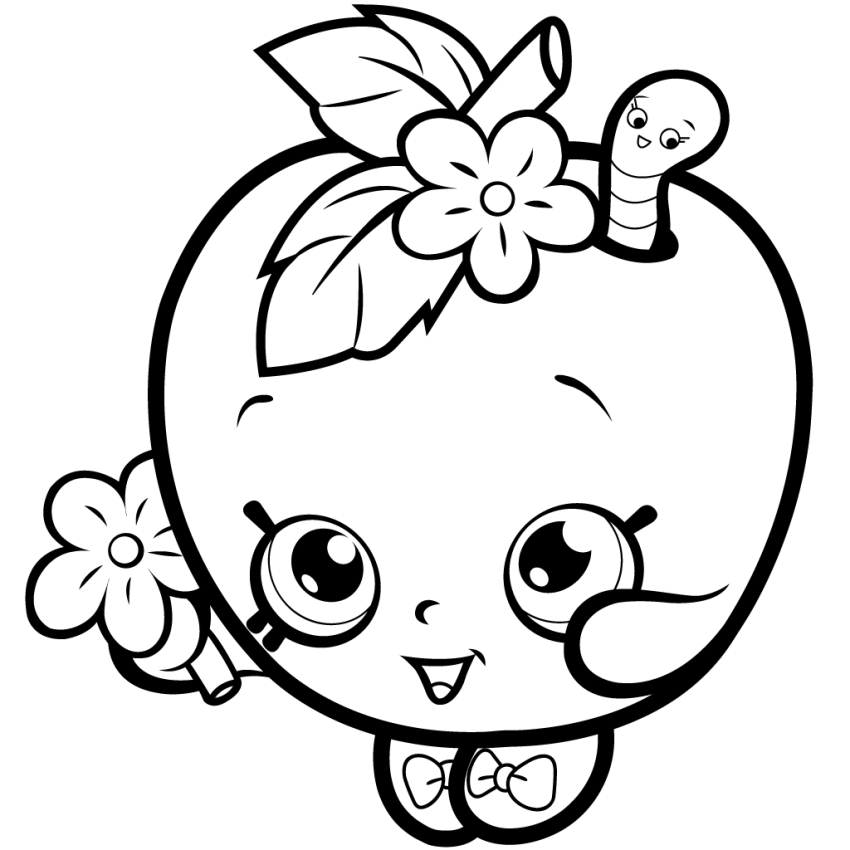 apple blossom coloring page apple blossom from shopkins coloring page wecoloringpagecom blossom apple coloring page