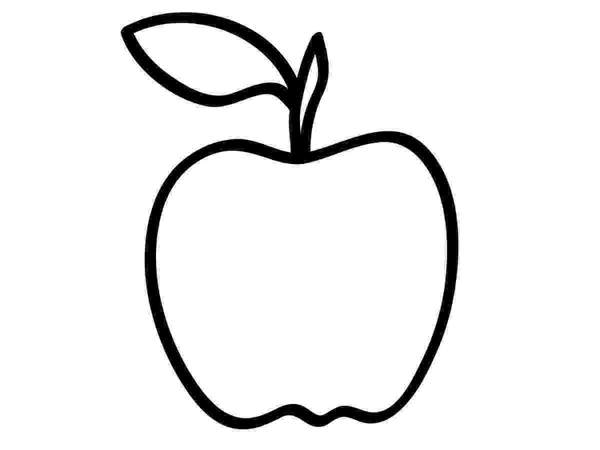 apple coloring picture kindergarten worksheet guide pictures clip art line picture coloring apple