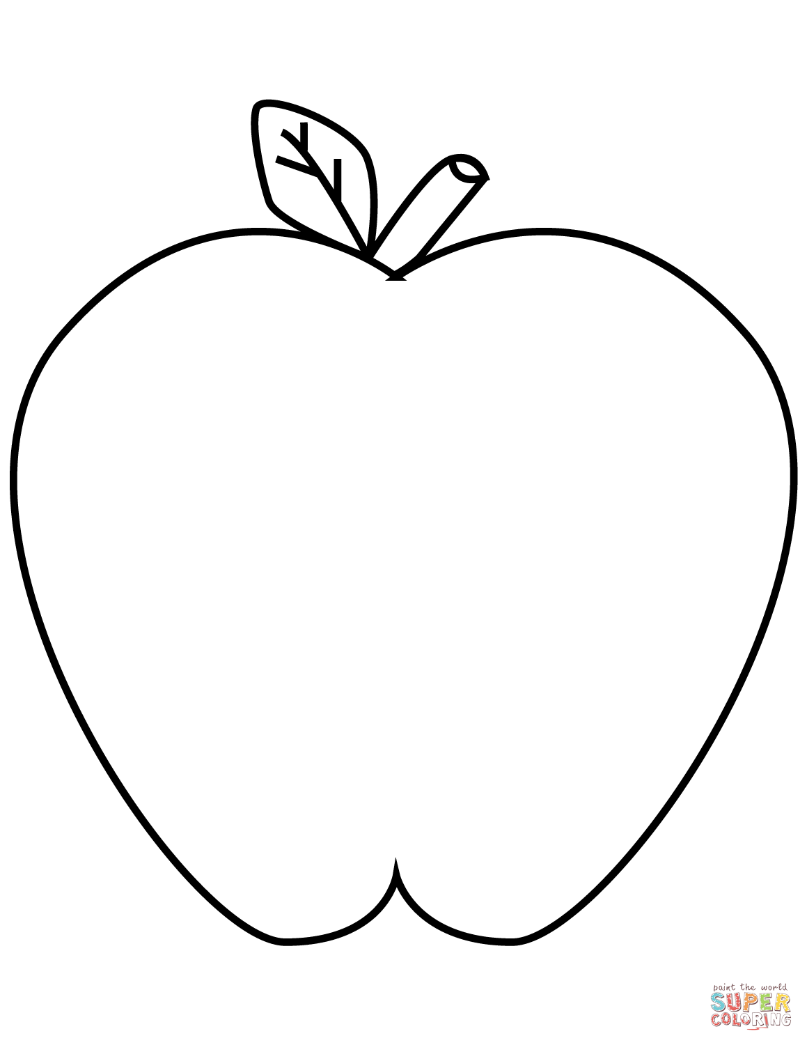 apple coloring picture realistic apple drawing at getdrawings free download apple picture coloring