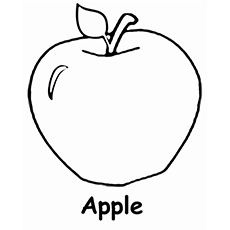 apple colouring images line drawing of apple at getdrawingscom free for images apple colouring