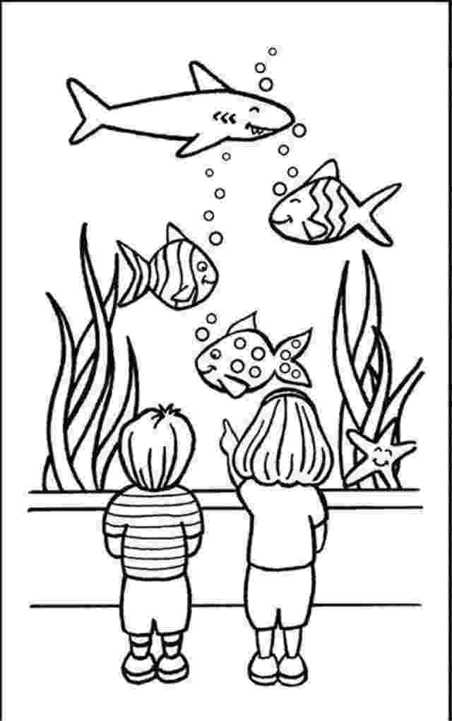 aquarium coloring pages aquarium coloring pages pages aquarium coloring