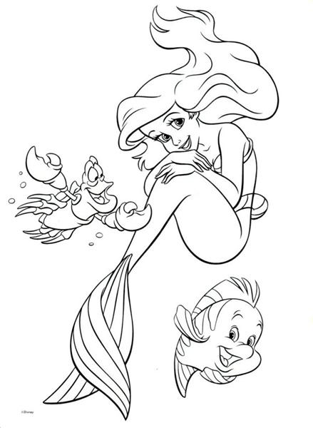 ariel little mermaid coloring pages the little mermaid coloring pages 4 disneyclipscom little coloring pages mermaid ariel