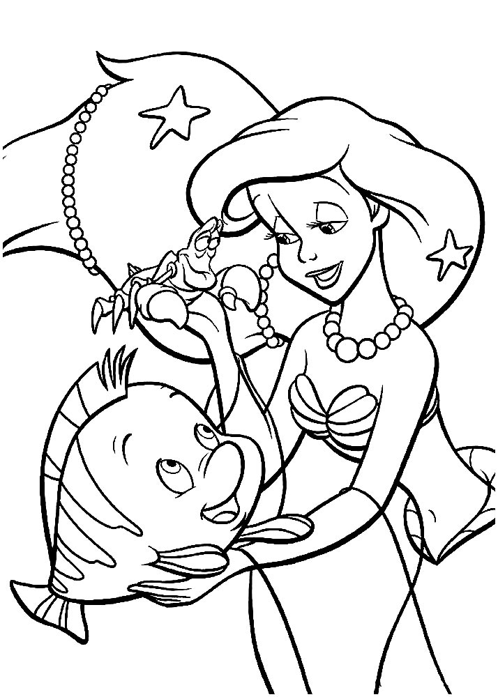 ariel little mermaid coloring pages the little mermaid coloring pages coloringpages1001com mermaid little coloring pages ariel