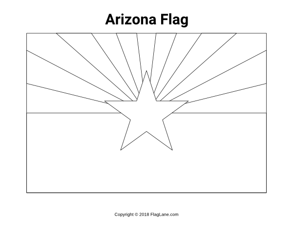 arizona flag coloring page 40 best images about motorhome trip busy binder on arizona flag page coloring