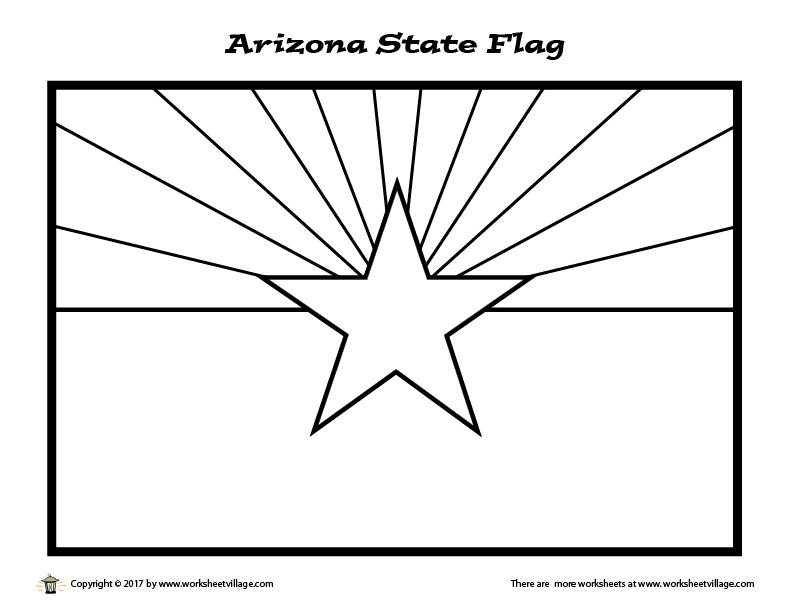 arizona flag coloring page arizona state flag coloring page coloring pages flag page arizona coloring