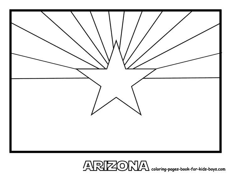 arizona flag coloring page arizona state flag coloring page worksheet village flag coloring arizona page