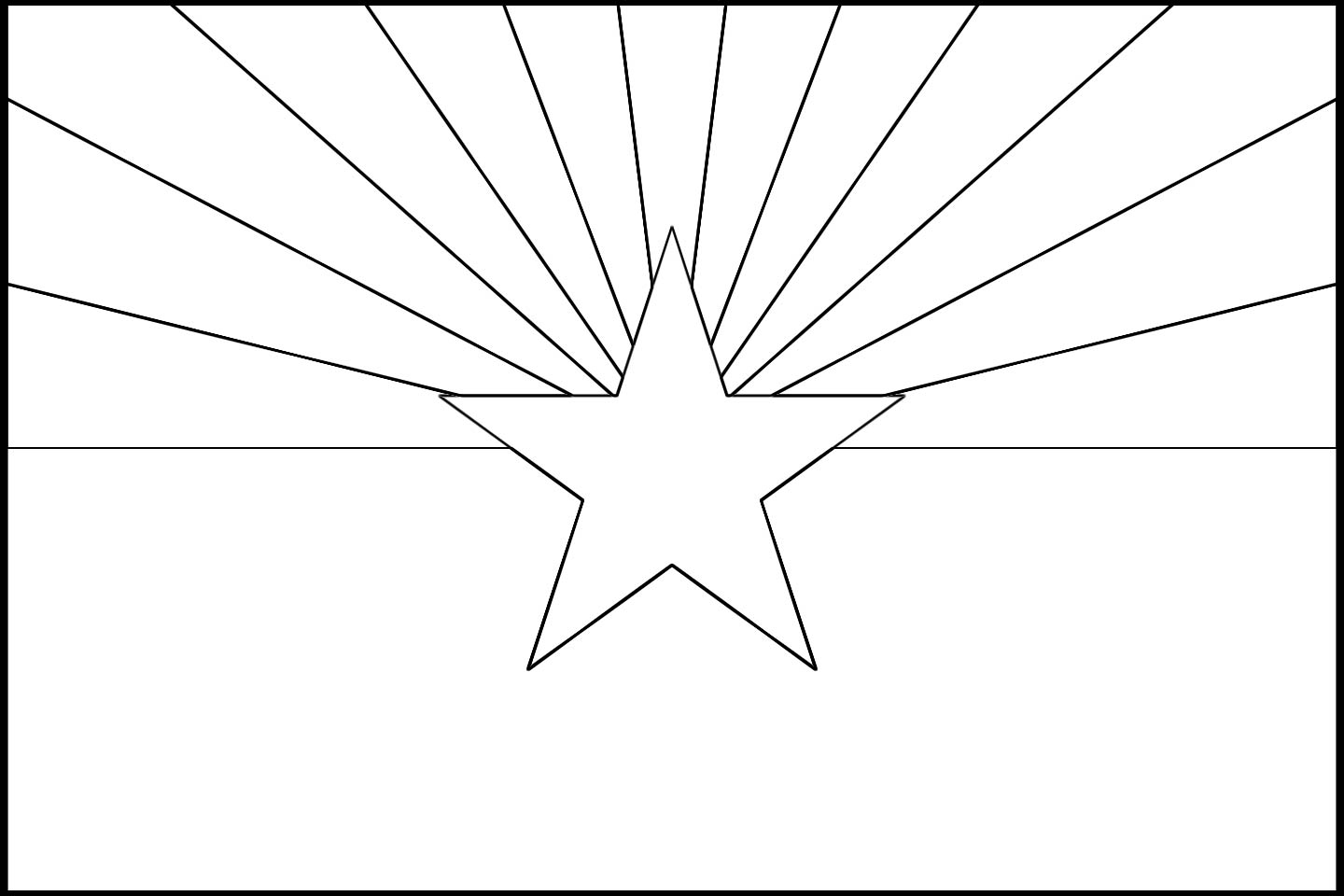 arizona flag coloring page colouring book of flags united states of america flag page coloring arizona