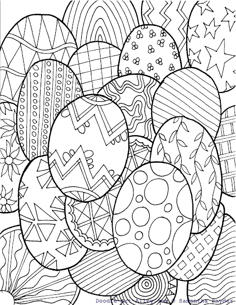 art pictures to color blissful roots free easter egg coloring collage from art color to pictures