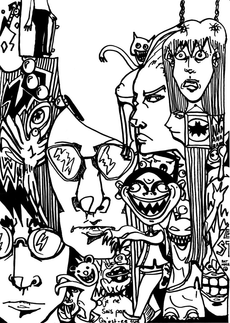 art pictures to color cartoon graffiti printable coloring page free for to art pictures color