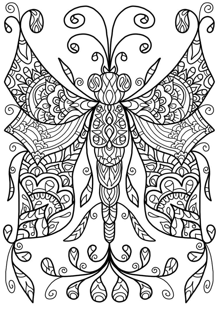 art pictures to color free colouring page dragonfly thing by welshpixie on color to pictures art