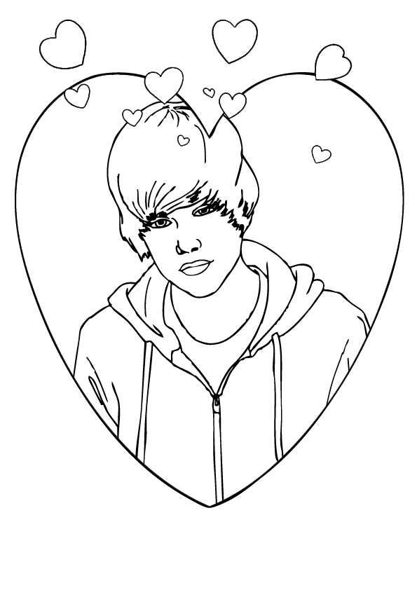 art pictures to color justin bieber celebrities printable coloring pages pictures color to art