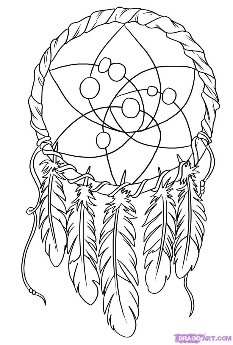 art pictures to color oodles of doodles dreamcatcher coloring page color art pictures to