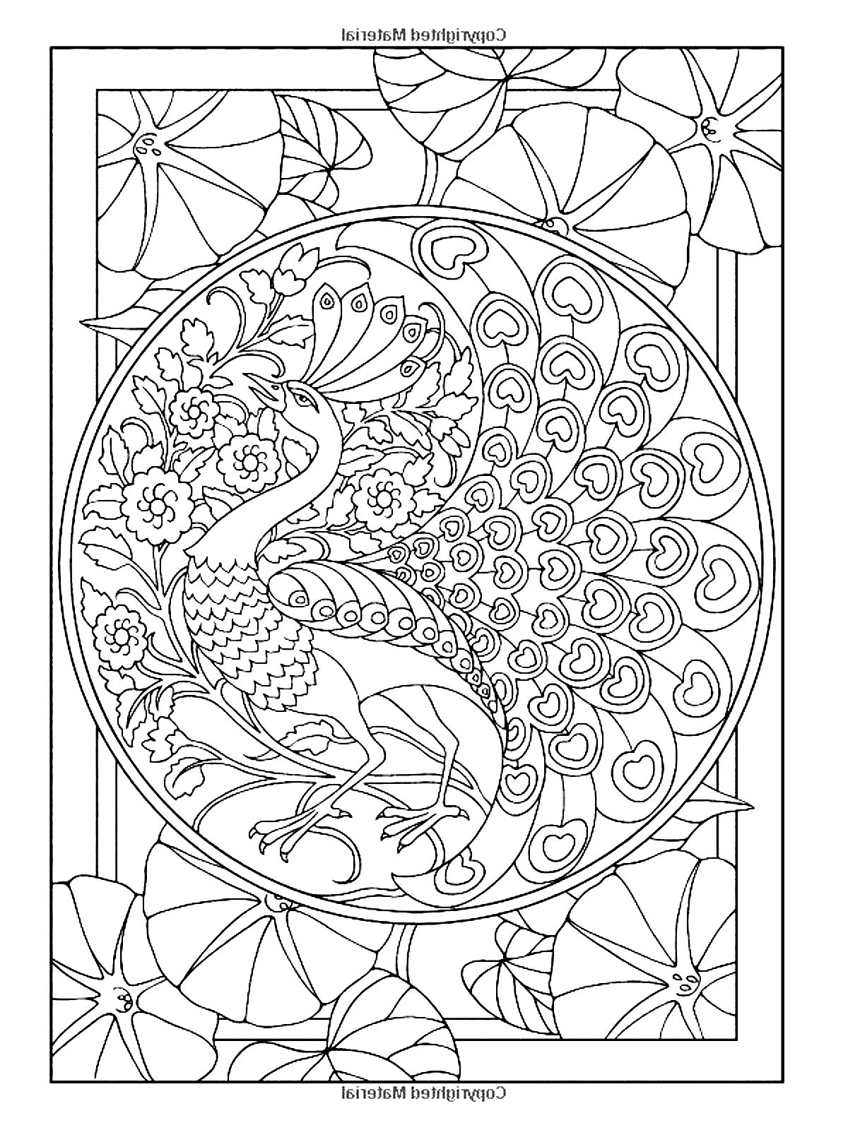 art pictures to color rug hook craft paper pattern swirl tree 2 birds and houses pictures to color art