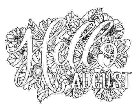 august coloring pages august coloring pages preschoolers free adultsprintable coloring august pages