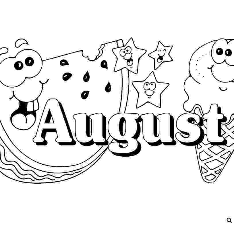 august coloring pages august coloring pages to download and print for free pages coloring august 1 1