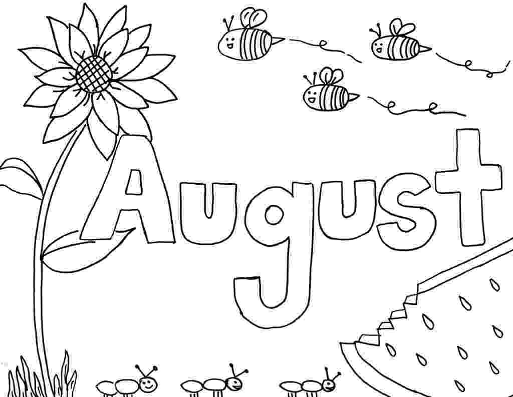 august coloring pages printable monthly coloring pages the empowered provider coloring august pages