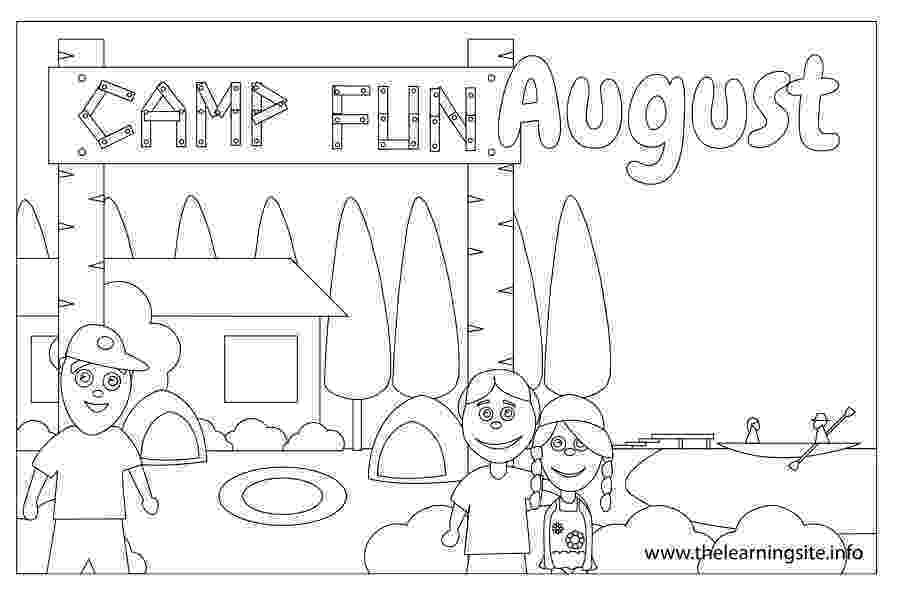 august coloring pages we love to illustrate august free downloadable coloring august coloring pages