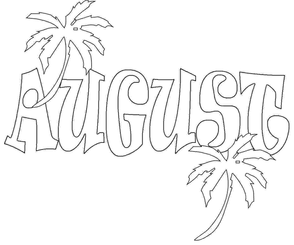 august coloring pages we love to illustrate august free downloadable coloring pages coloring august