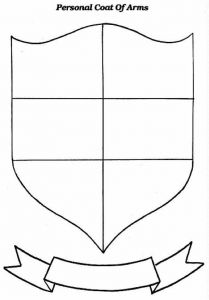 australian coat of arms template family crest coat of arms by gerald39s gems teachers australian template arms coat of