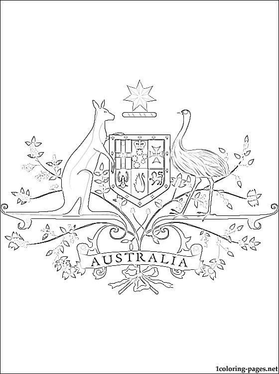 australian coat of arms template free printable coat of arms template coat of arms art template of arms australian coat