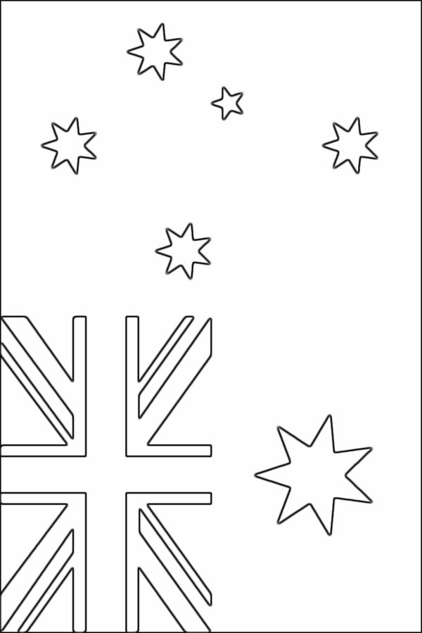 australian flag to colour australian flag print out printable 360 degree to australian flag colour