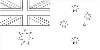 australian flag to colour free online australian flag colouring page kids activity australian to colour flag