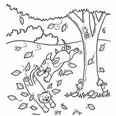 autumn season coloring pages fall coloring kids coloring page sheets of the fall season pages autumn coloring