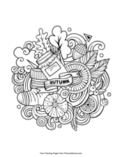 autumn season coloring pages fall leaves coloring pages for kids seasons fall season pages autumn coloring