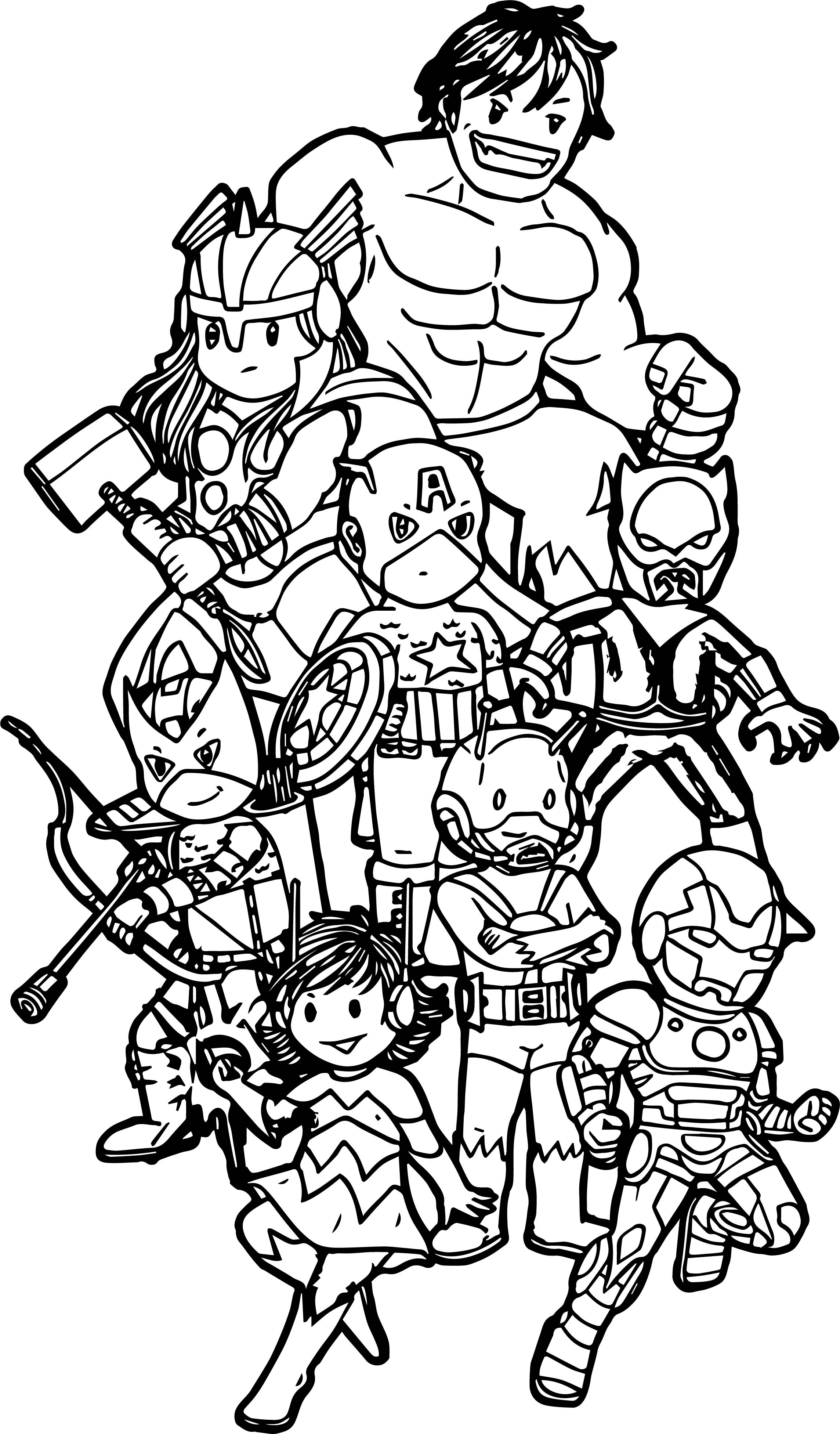 avenger coloring page avengers coloring pages 360coloringpages avenger page coloring