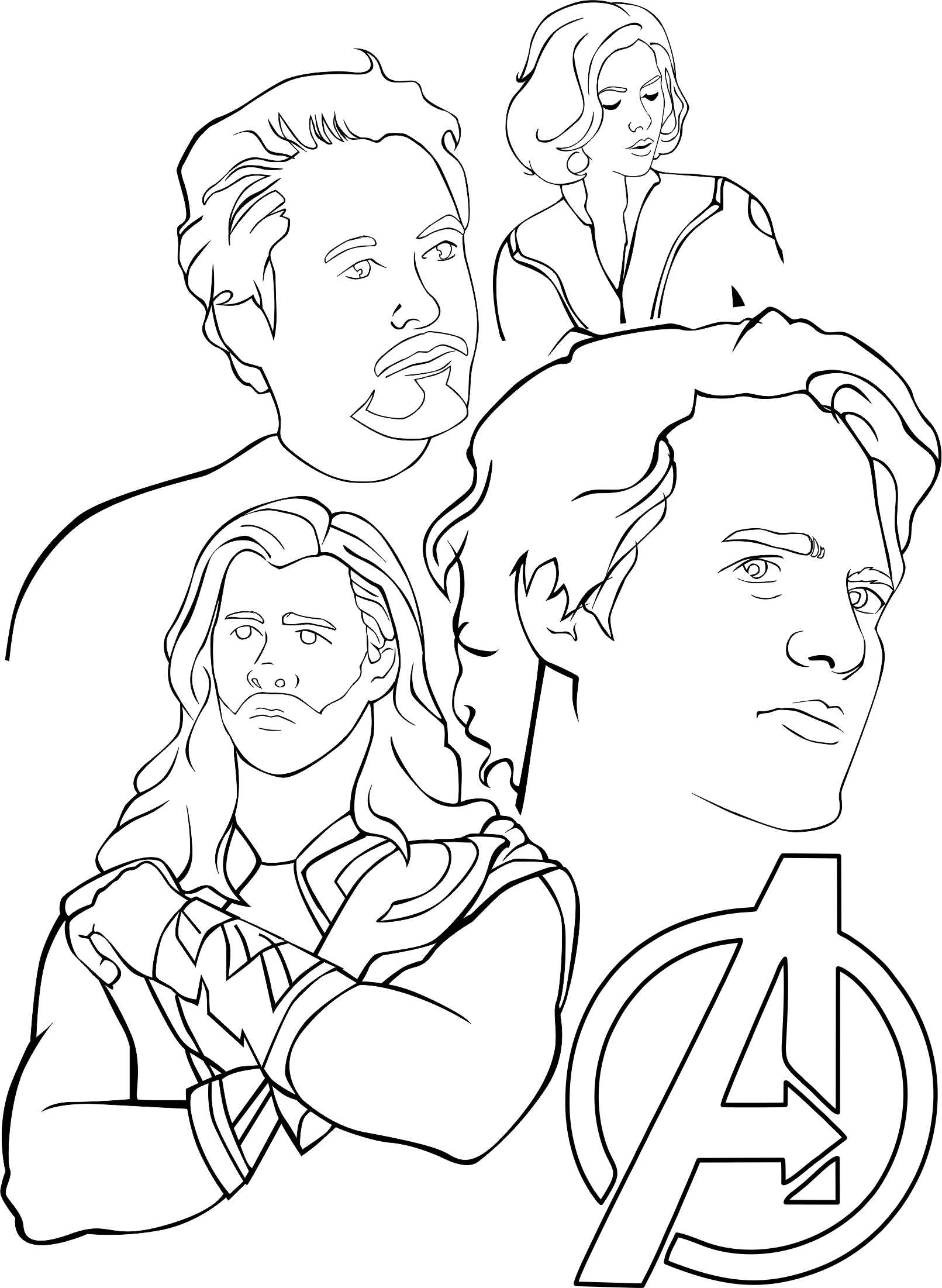 avenger coloring page avengers coloring pages 360coloringpages page coloring avenger