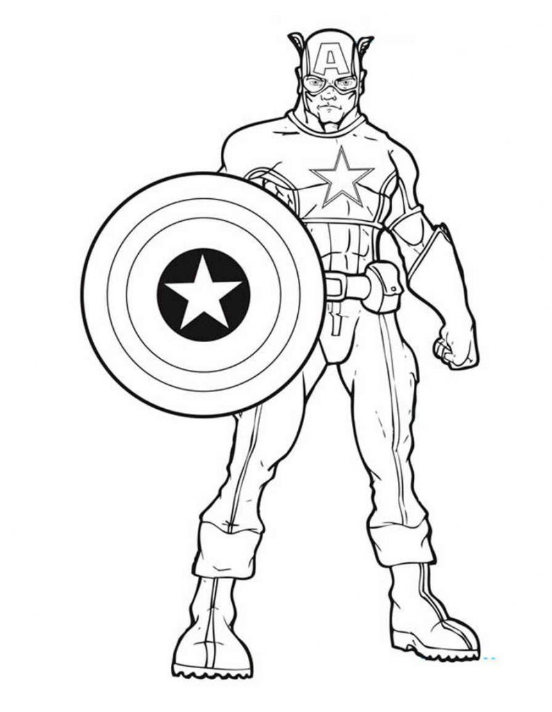 avenger coloring page captain america avengers coloring pages for kids coloring page avenger