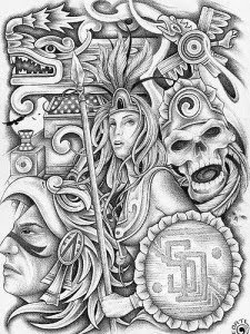 aztec art 125 best aztec tattoo designs for men wild tattoo art art aztec