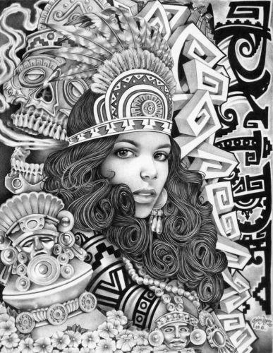 aztec art aztec art aztec art