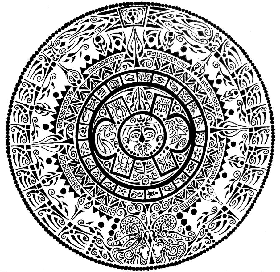 aztec art jaguar warrior by qetza on deviantart aztec art