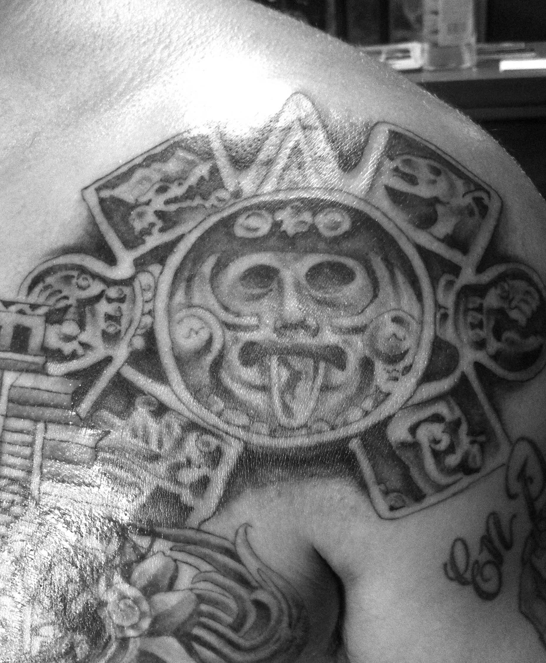 aztec art keep it gangsta lowrider artez aztec art