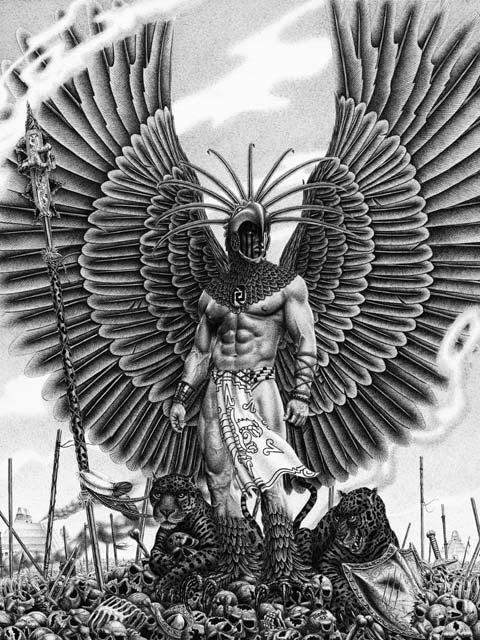aztec art prophets poets e volved magazine artist feature art aztec