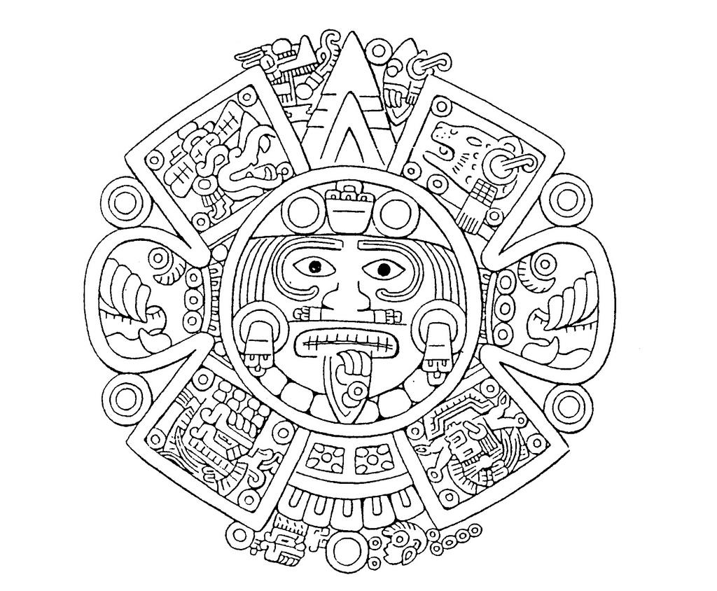 aztec art top 60 aztec calendar clip art vector graphics and art aztec