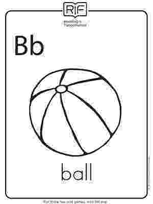 b for ball coloring page learn the letter b with fluffy and ivy coloring page for ball b