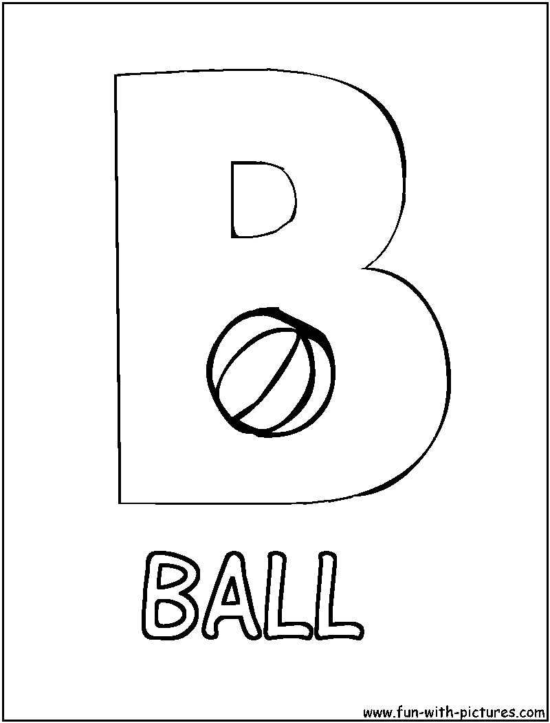 b for ball coloring page letter bb ball coloring page coloring pages page for b coloring ball