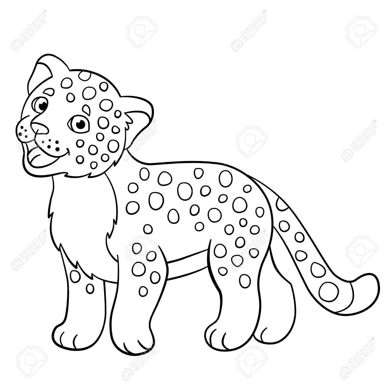 baby jaguar coloring pages baby wildcat cartoon stock illustrations 256 baby baby coloring pages jaguar
