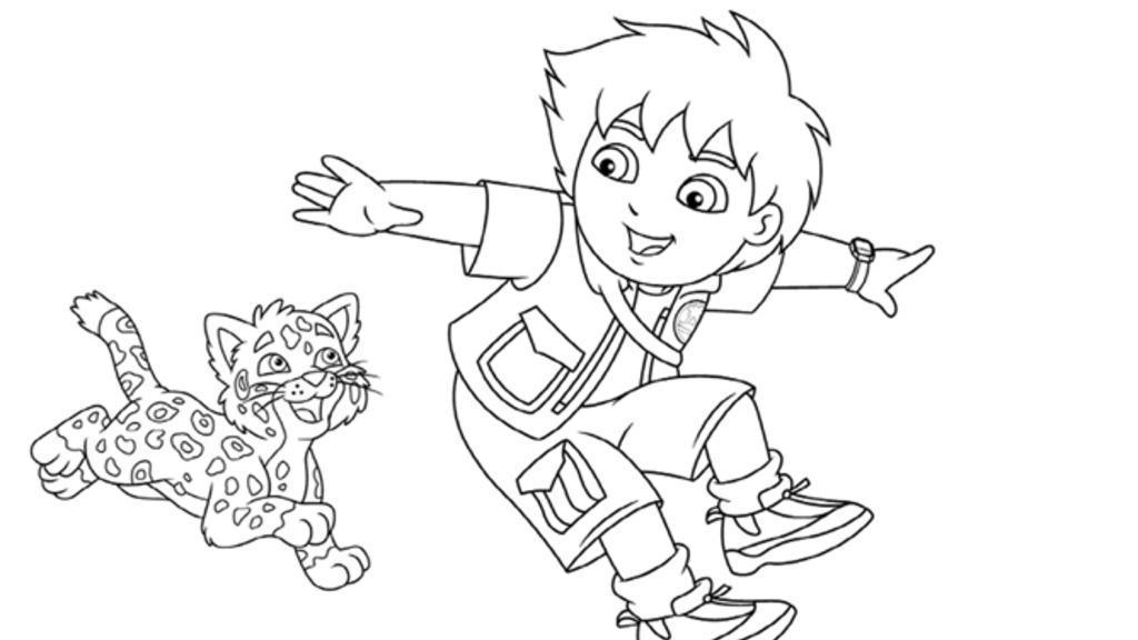 baby jaguar coloring pages go diego godiego and baby jaguar colouring pages for baby pages jaguar coloring