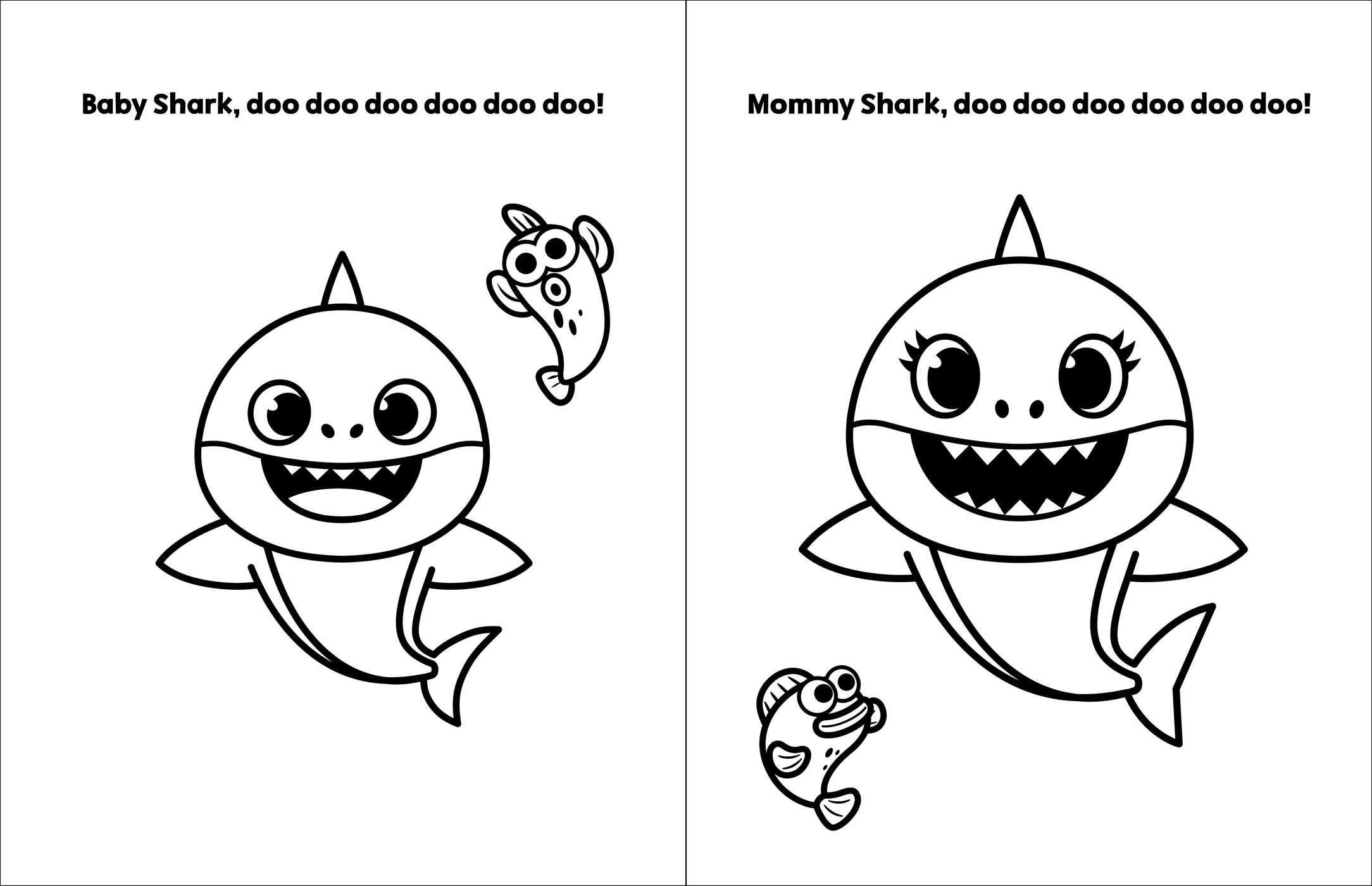 baby shark coloring page gambar mewarna baby shark gambar mewarna coloring page shark baby