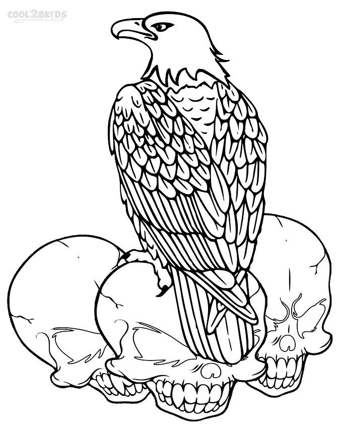 bald eagle coloring page american bald eagle coloring page free printable coloring bald page eagle