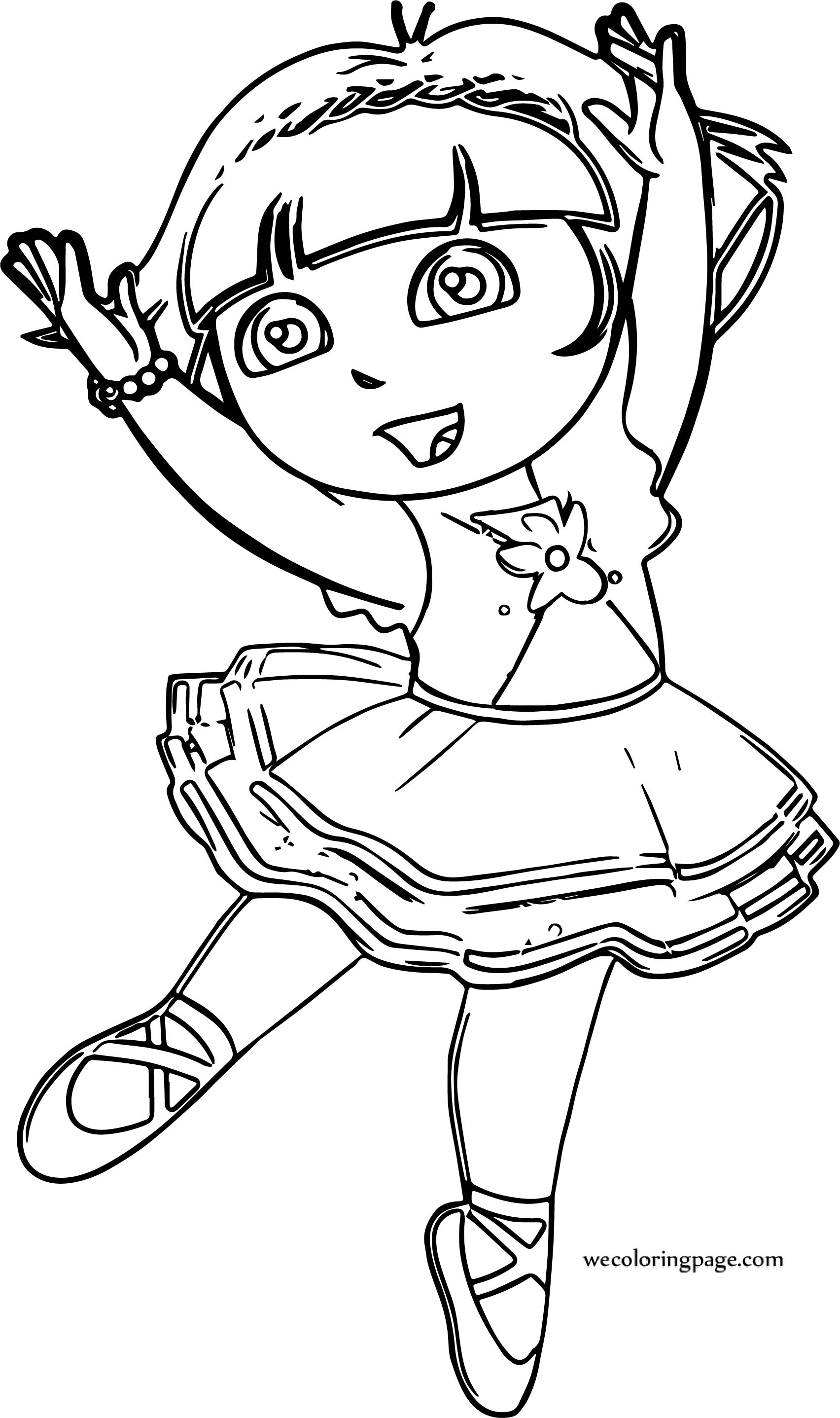 ballerina color ballerina coloring pages 360coloringpages color ballerina