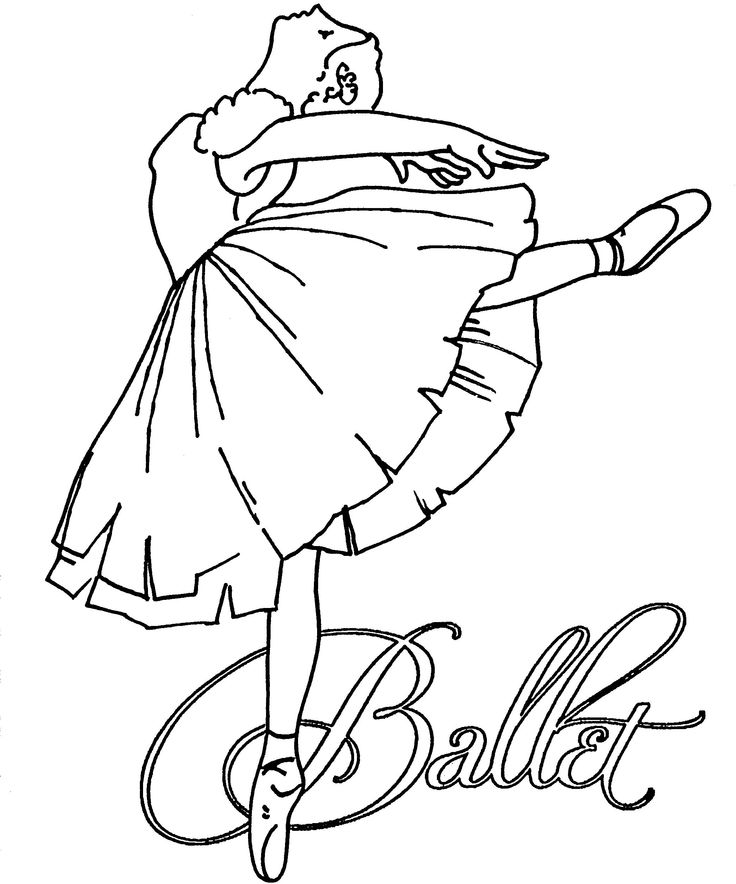 ballerina color ballerina coloring pages for childrens printable for free color ballerina