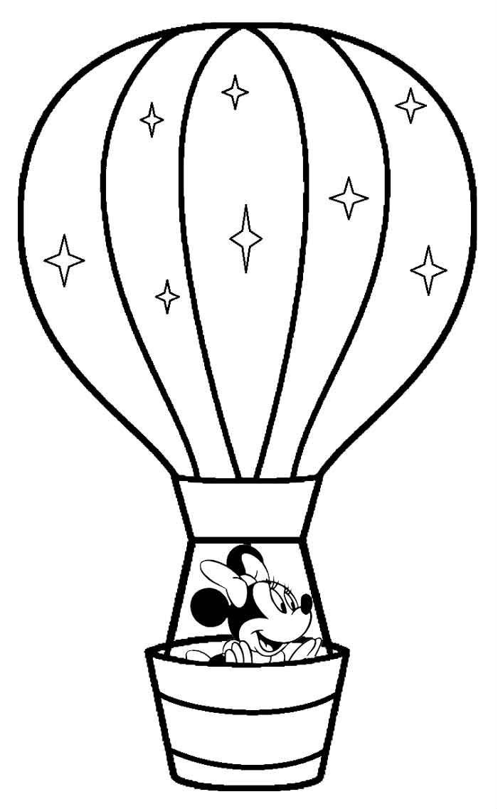 balloons to color 12 best hot air balloons coloring pages images on balloons to color