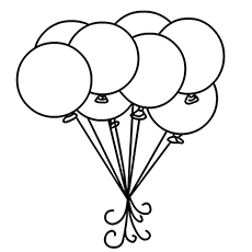 balloons to color top 25 free printable circle coloring pages online to color balloons